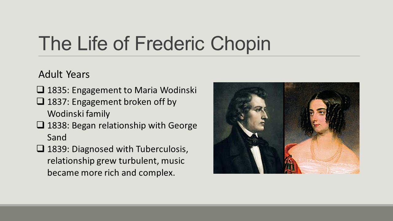 The Life of Frederic Chopin