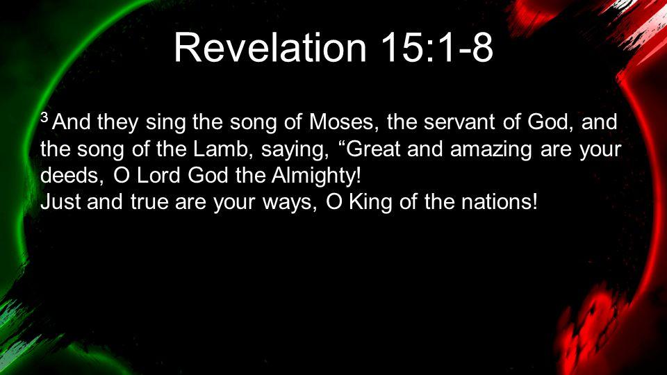Revelation 15:1-8