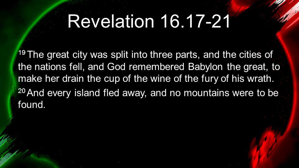 Revelation 16.17-21