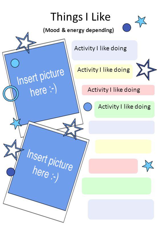 (Mood & energy depending)