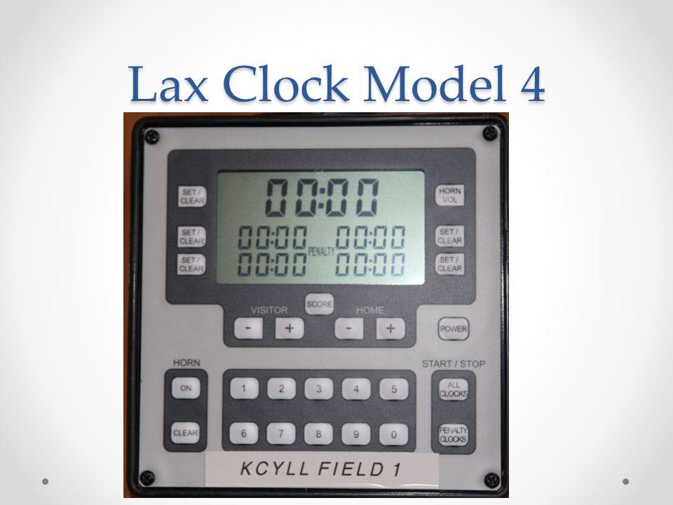 Lax Clock Model 4