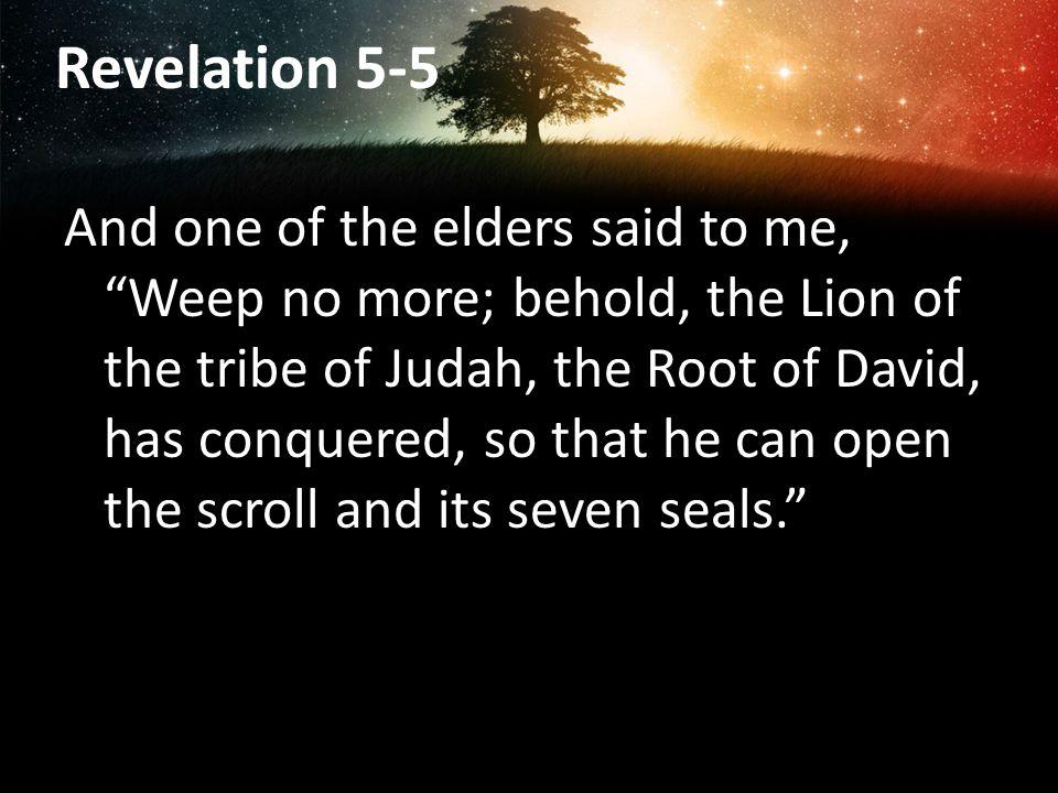 Revelation 5-5