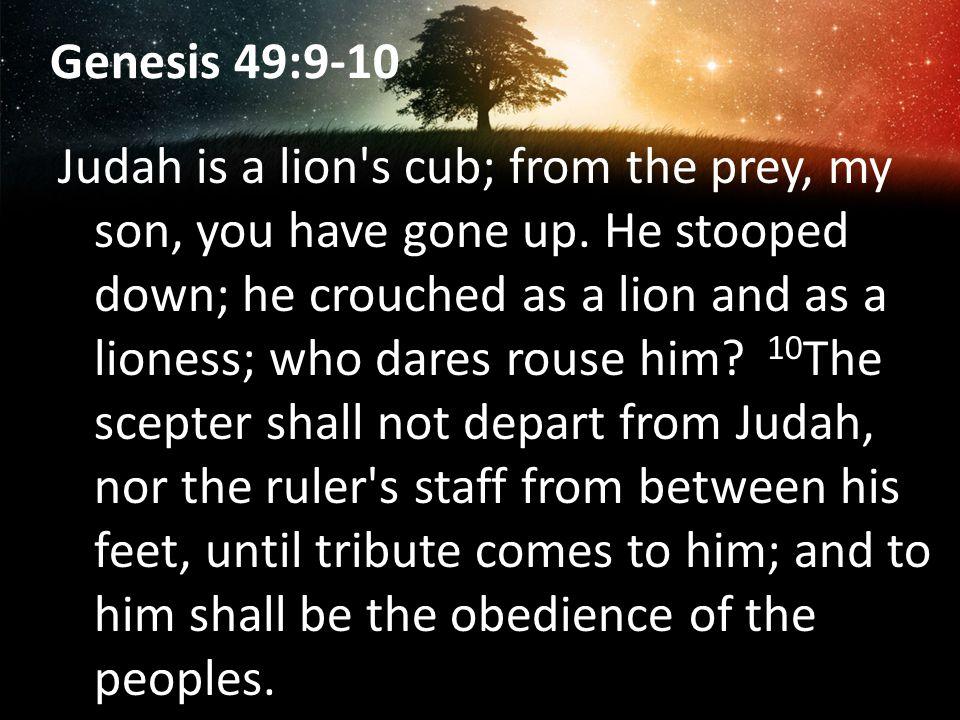 Genesis 49:9-10