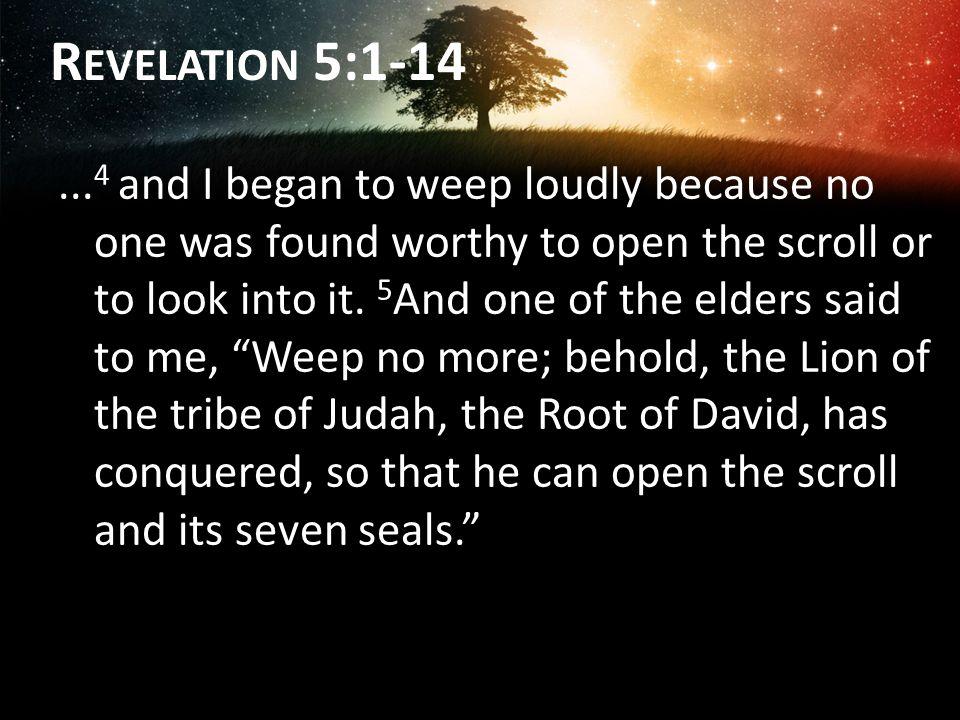 Revelation 5:1-14