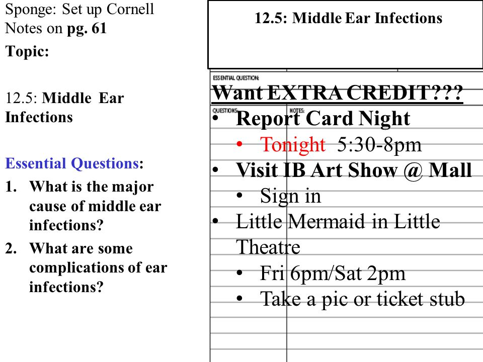 12.5: Middle Ear Infections