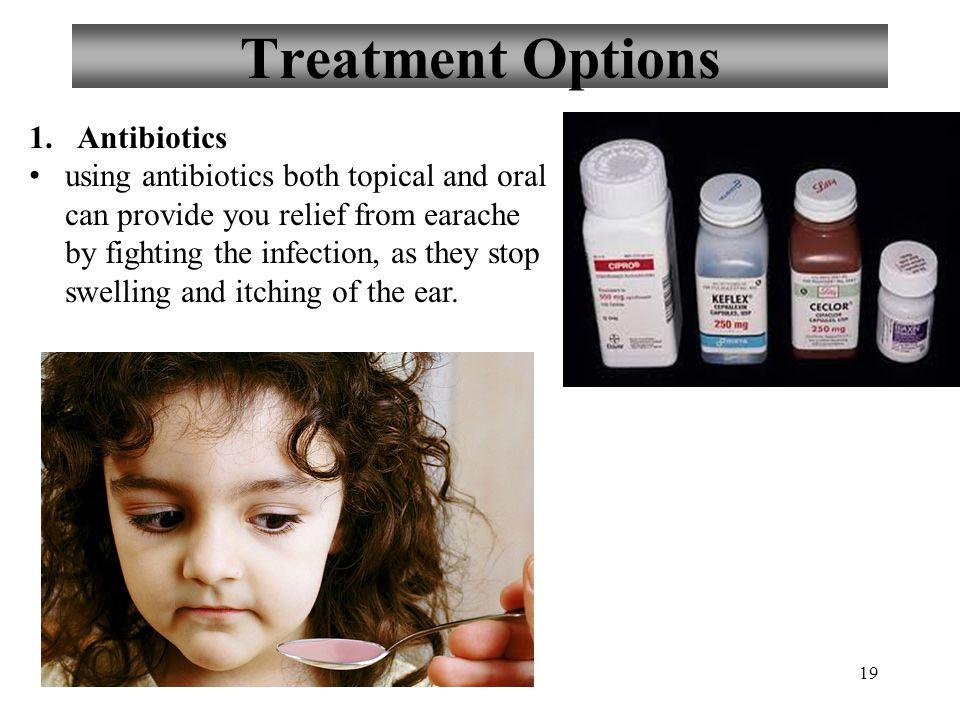 Treatment Options Antibiotics