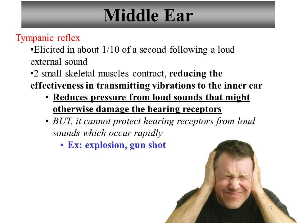 Middle Ear Tympanic reflex