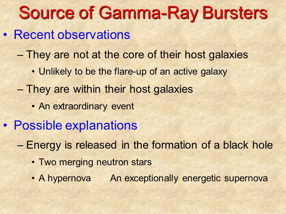 Source of Gamma-Ray Bursters