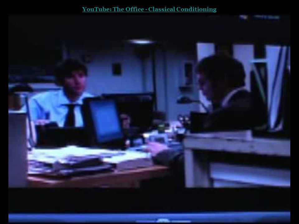 YouTube: The Office - Classical Conditioning