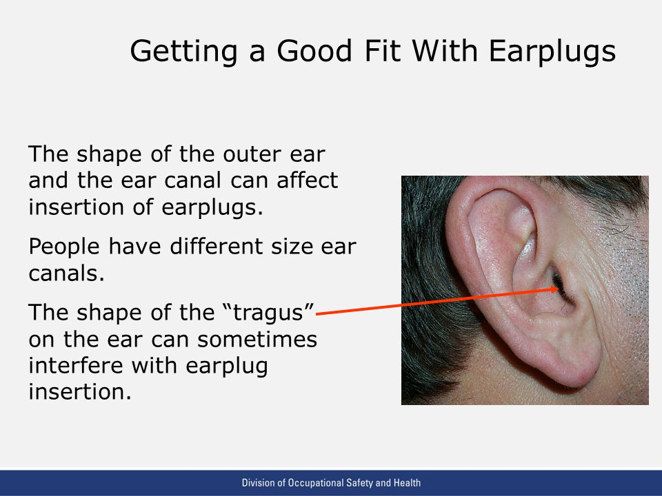 Getting a Good Fit With Earplugs