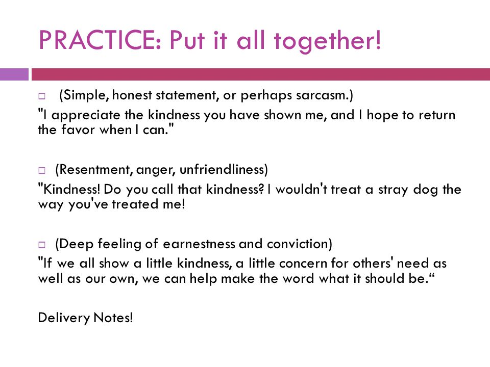 PRACTICE: Put it all together!