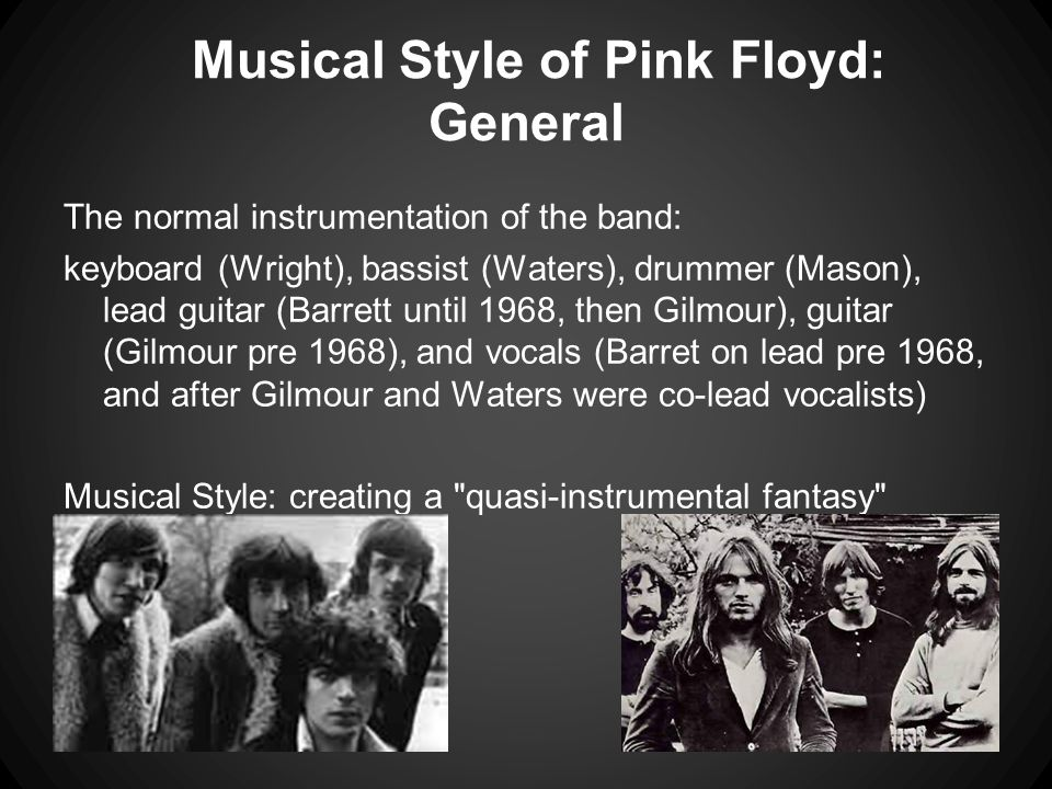 Musical Style of Pink Floyd: General