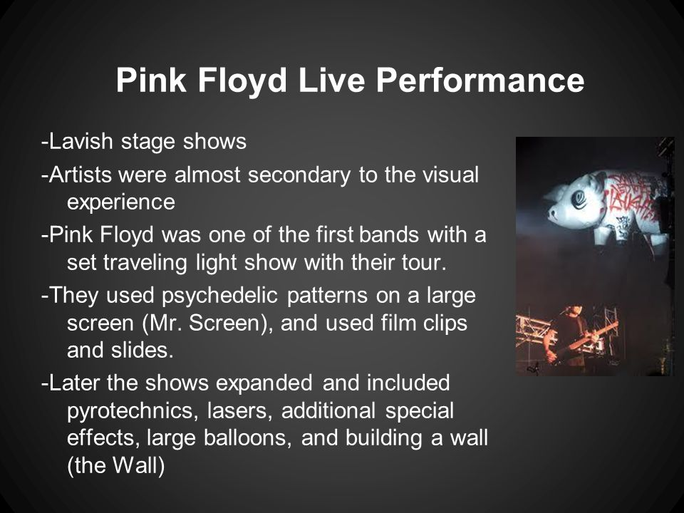 Pink Floyd Live Performance