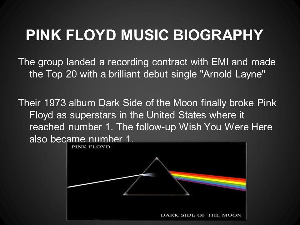 PINK FLOYD MUSIC BIOGRAPHY