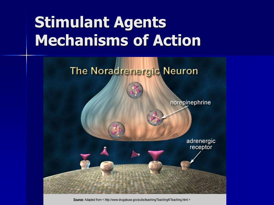 Stimulant Agents Mechanisms of Action