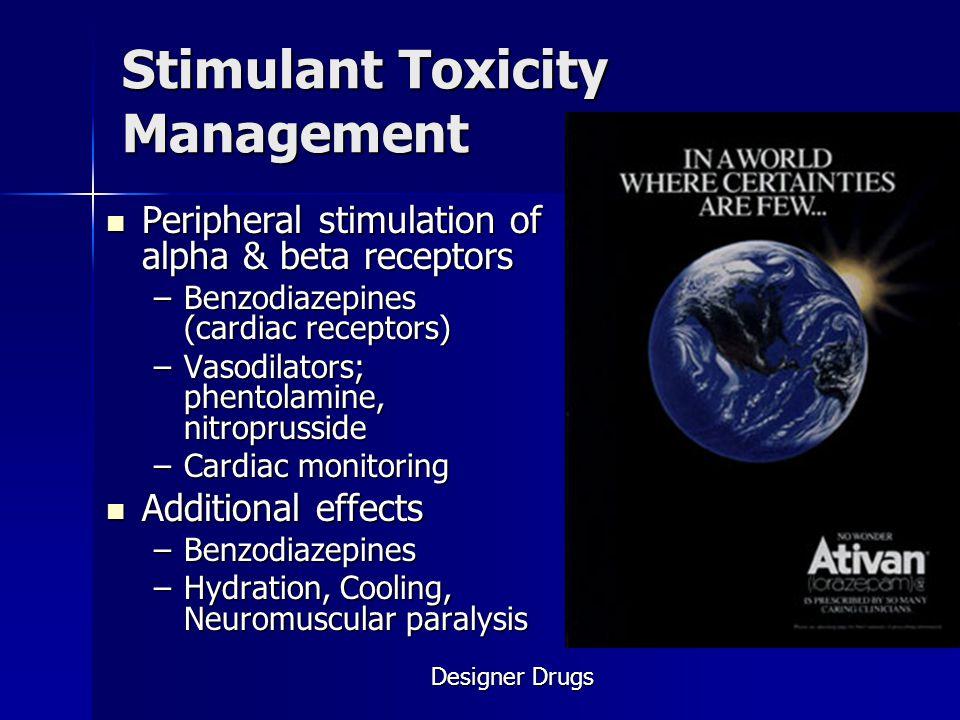 Stimulant Toxicity Management