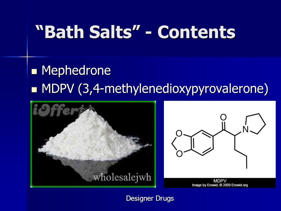 Bath Salts - Contents