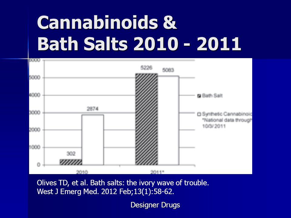 Cannabinoids & Bath Salts 2010 - 2011