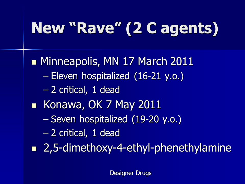 New Rave (2 C agents) Minneapolis, MN 17 March 2011