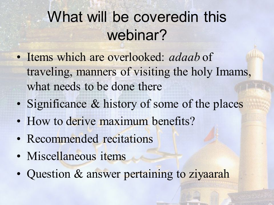 What will be coveredin this webinar