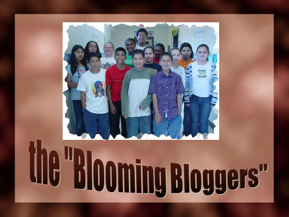 the Blooming Bloggers