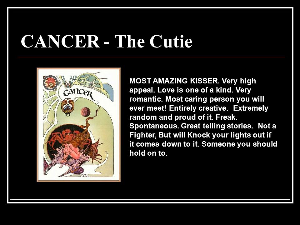 CANCER - The Cutie