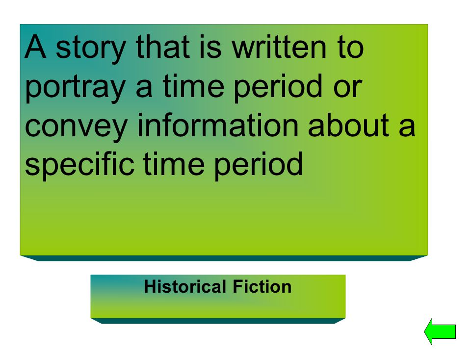 A story that is written to portray a time period or convey information about a specific time period