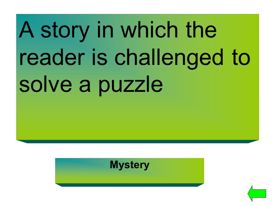 A story in which the reader is challenged to solve a puzzle