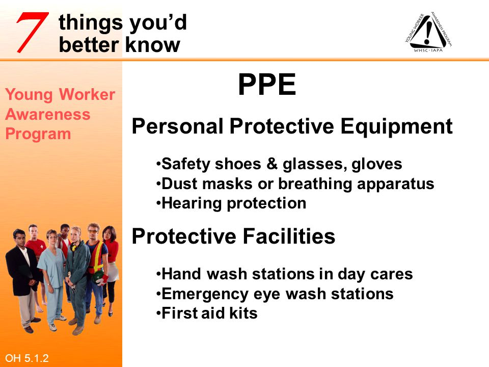 PPE Personal Protective Equipment Protective Facilities