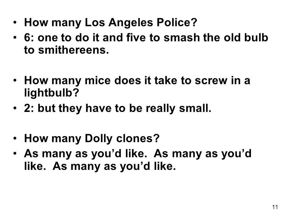 How many Los Angeles Police