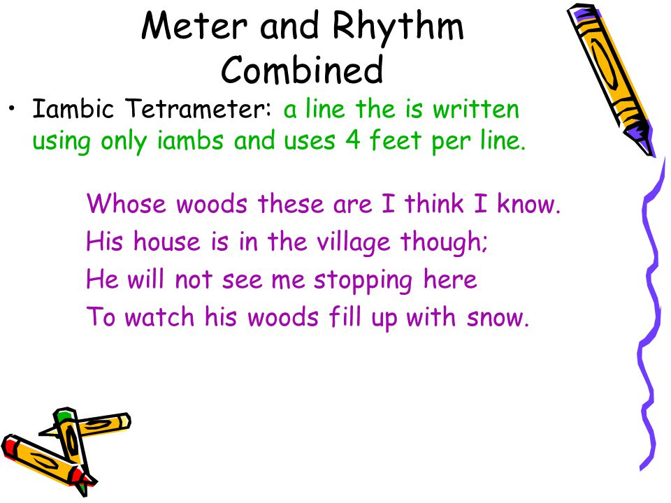 Meter and Rhythm Combined