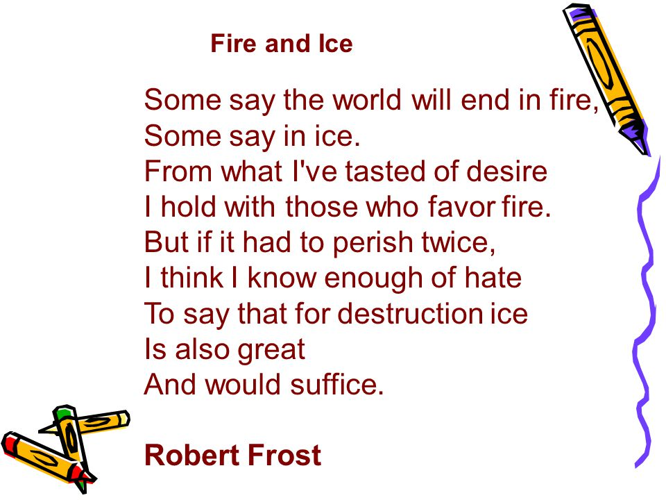 Television Fire and Ice