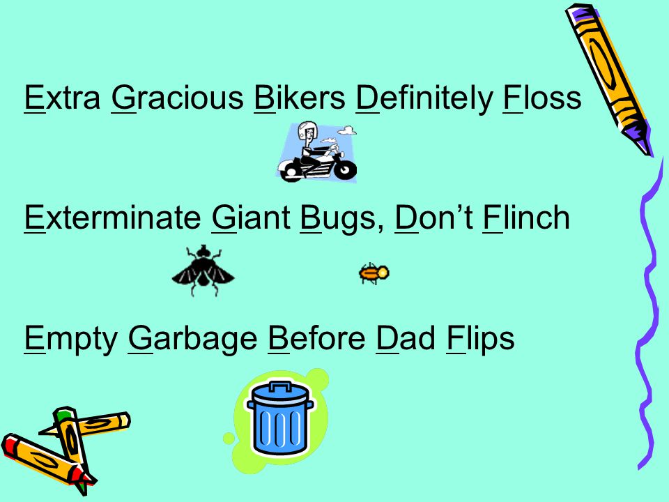Extra Gracious Bikers Definitely Floss