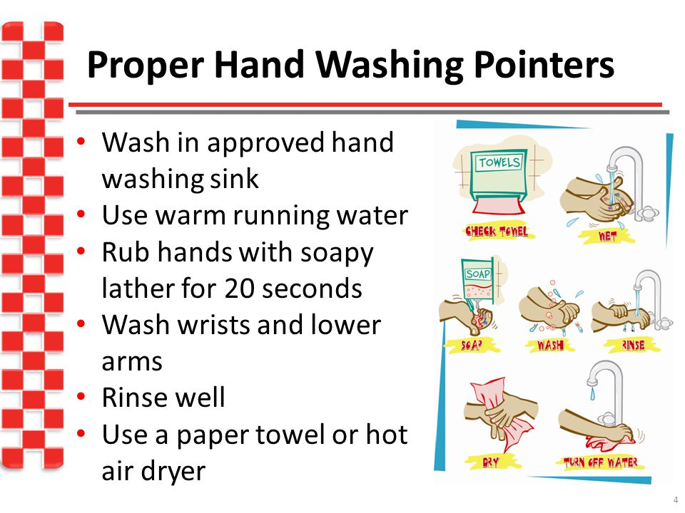 Proper Hand Washing Pointers