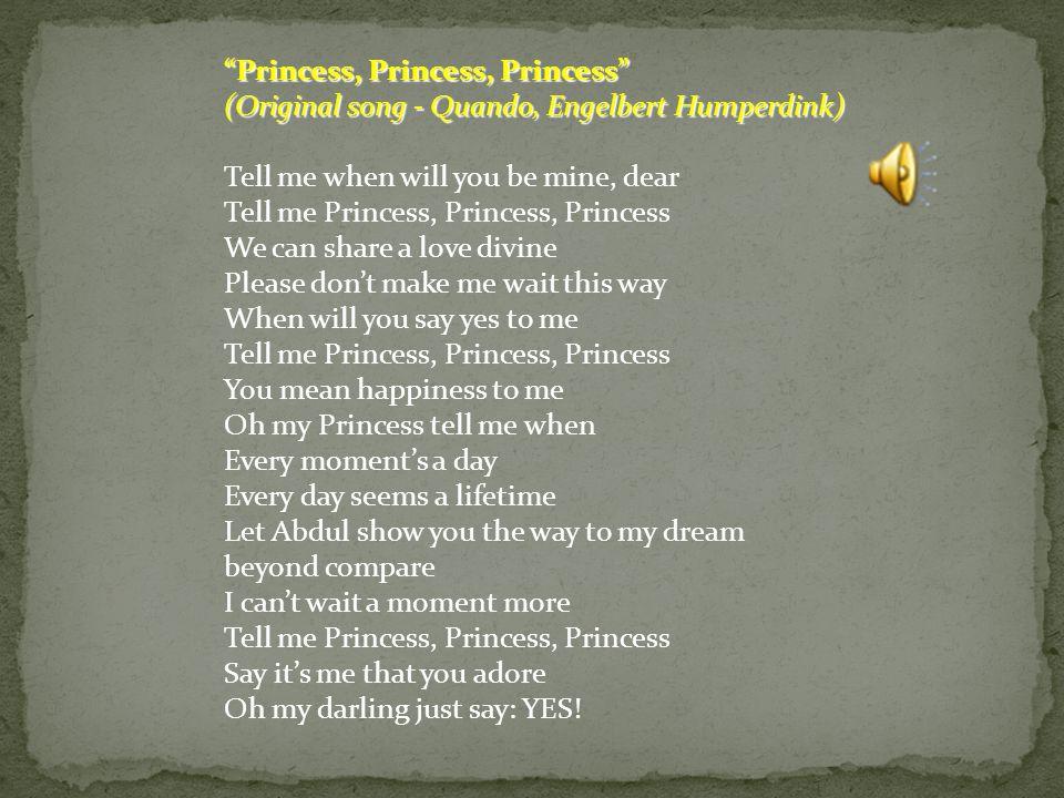 Princess, Princess, Princess