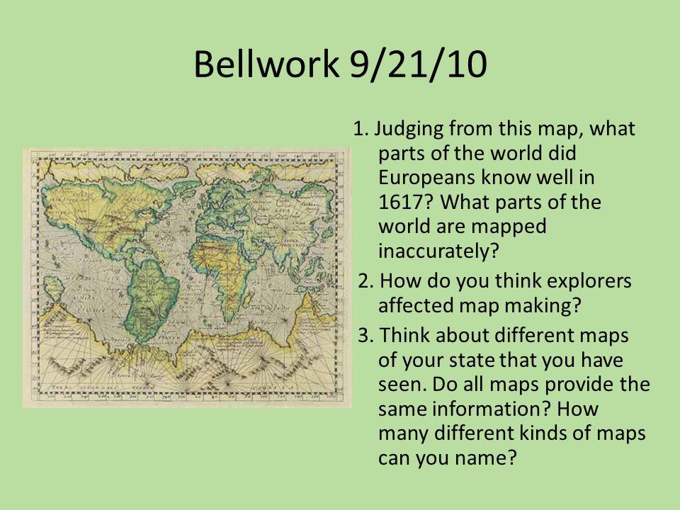 Bellwork 9/21/10