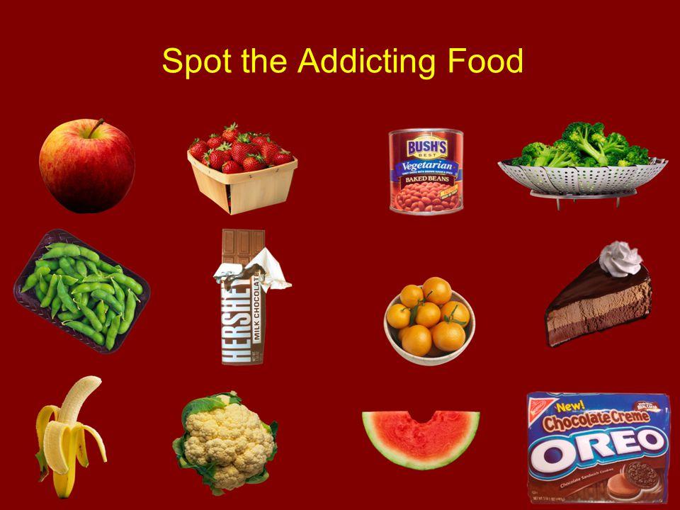 Spot the Addicting Food
