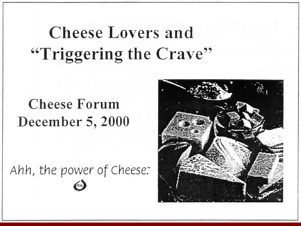 Marketing of cheese is big business