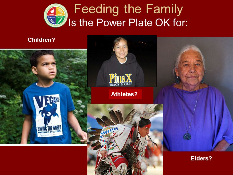 Feeding the Family Is the Power Plate OK for: