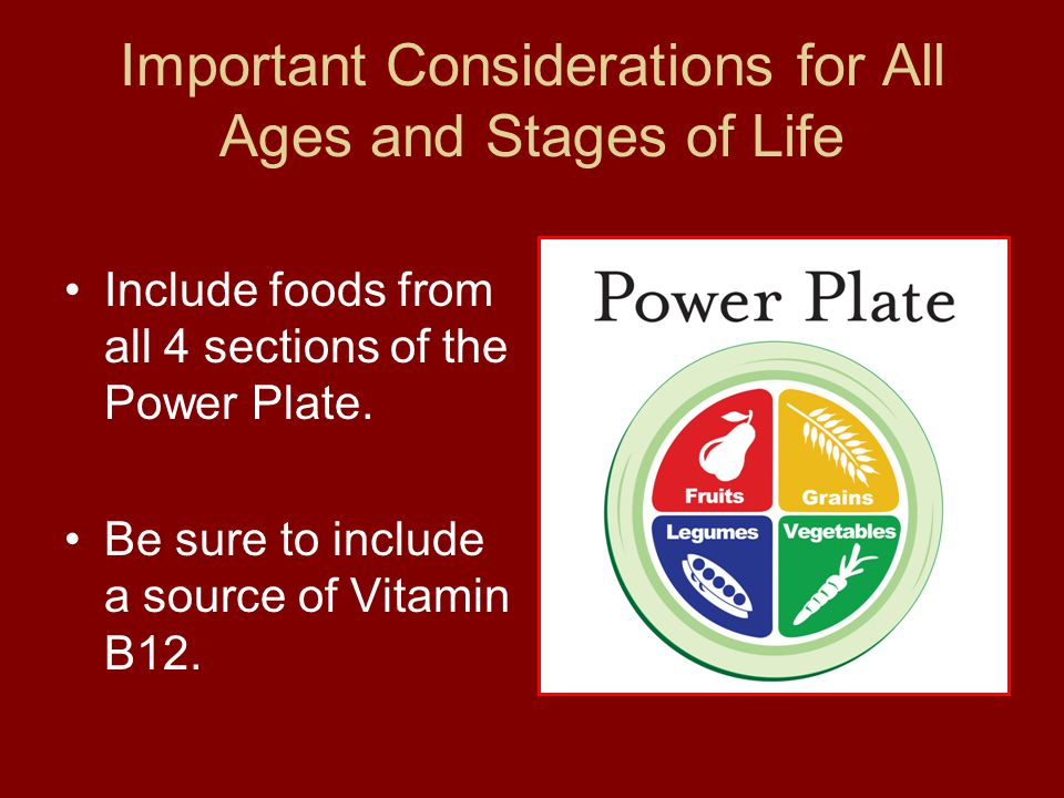 Important Considerations for All Ages and Stages of Life