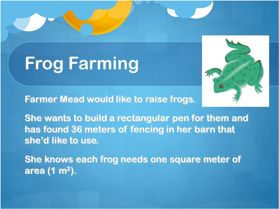 Frog Farming
