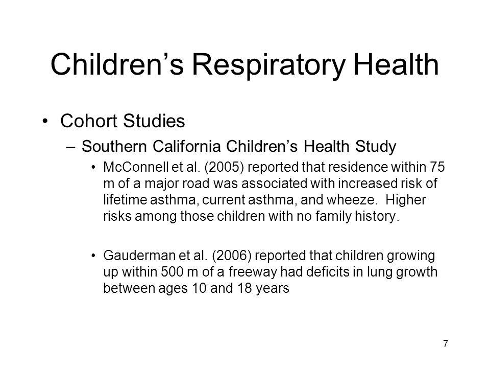 Children's Respiratory Health