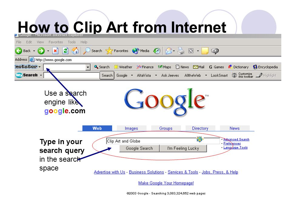 How to Clip Art from Internet