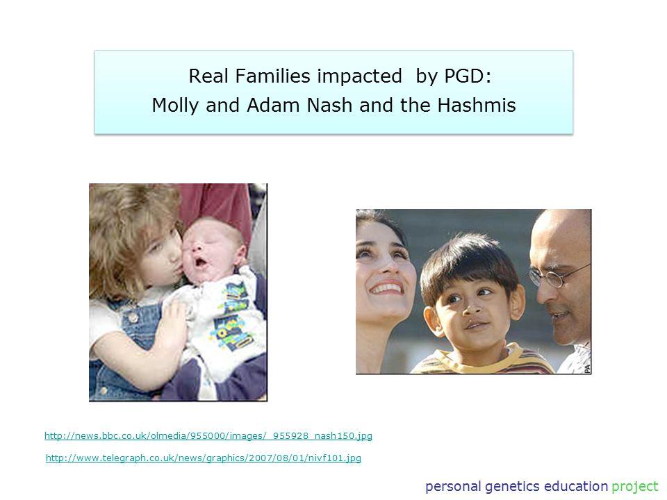personal genetics education project