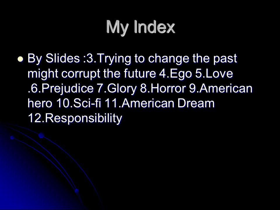 My Index