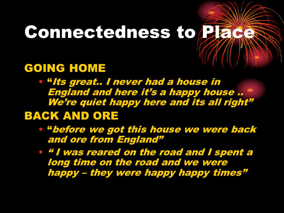 Connectedness to Place