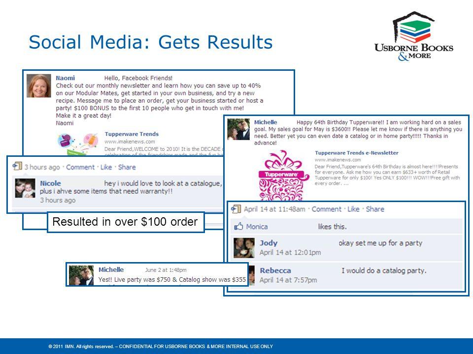 Social Media: Gets Results