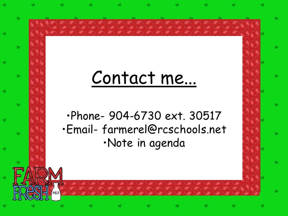 Email- farmerel@rcschools.net