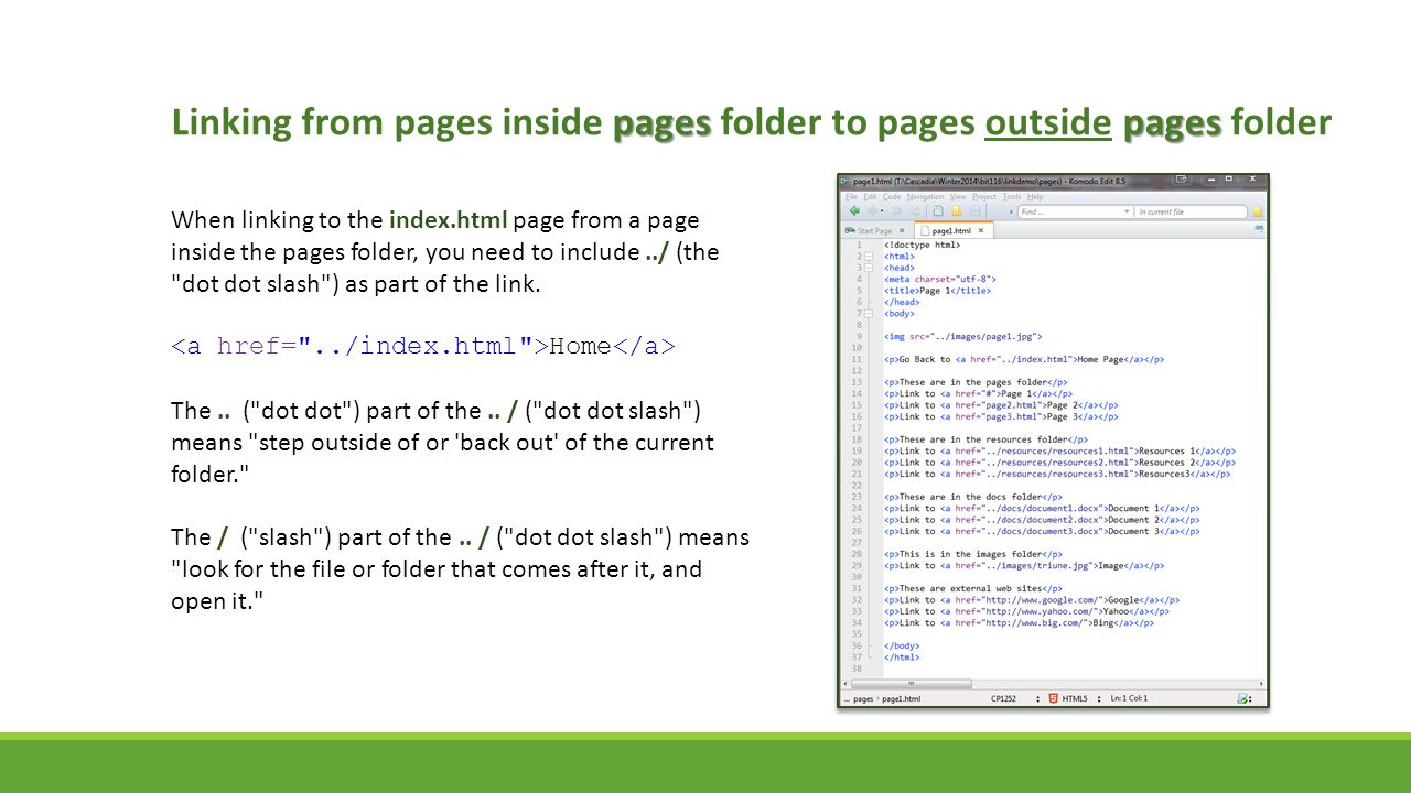 Linking from pages inside pages folder to pages outside pages folder