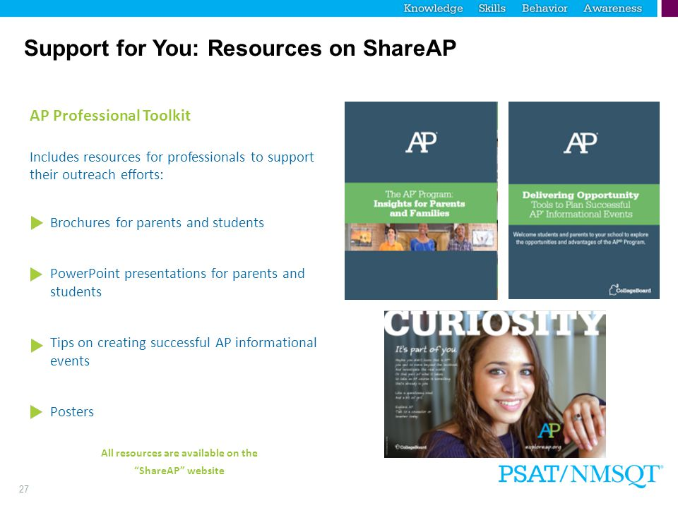 Support for You: Resources on ShareAP